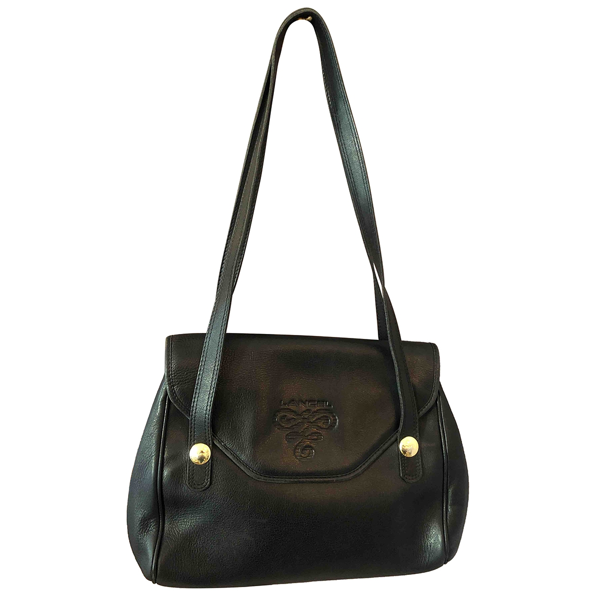 Lancel \N Black Leather handbag for Women \N