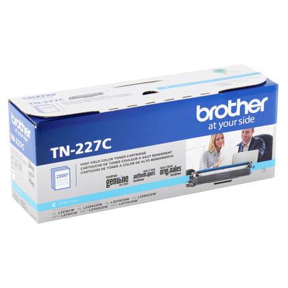 Brother TN227C cartouche de toner originale cyan haute capacité