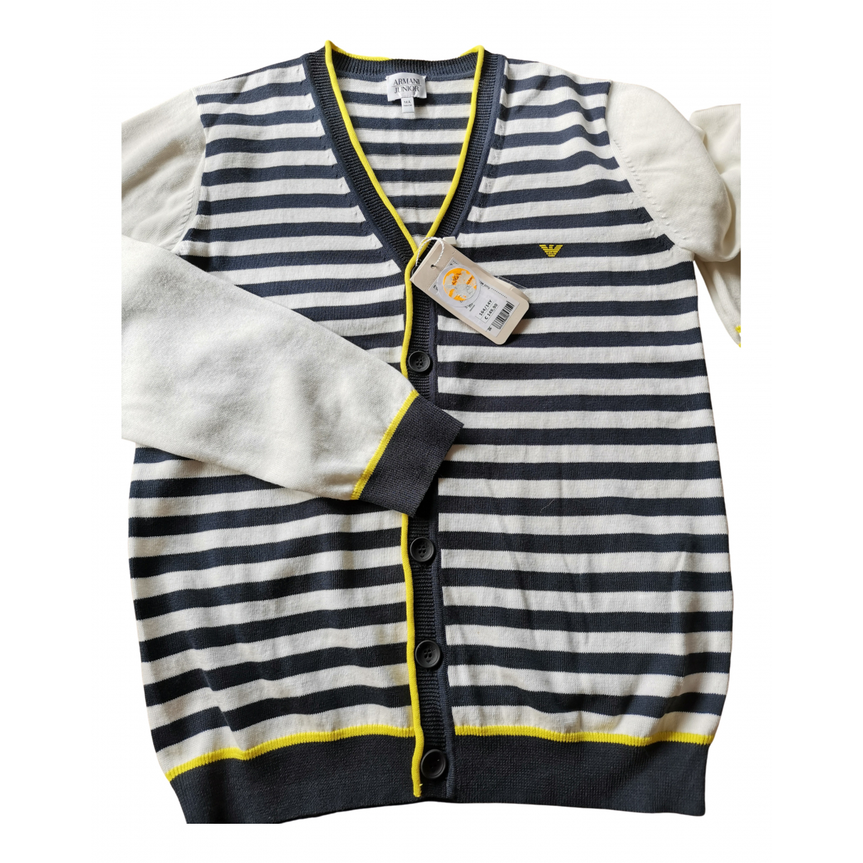 Emporio Armani N Multicolour Cotton Knitwear for Kids 14 years - S FR