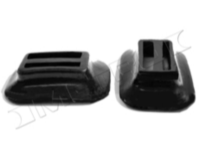 Metro Moulded BG 22 Bumper Arm Grommet Ford 1935 Front Pair