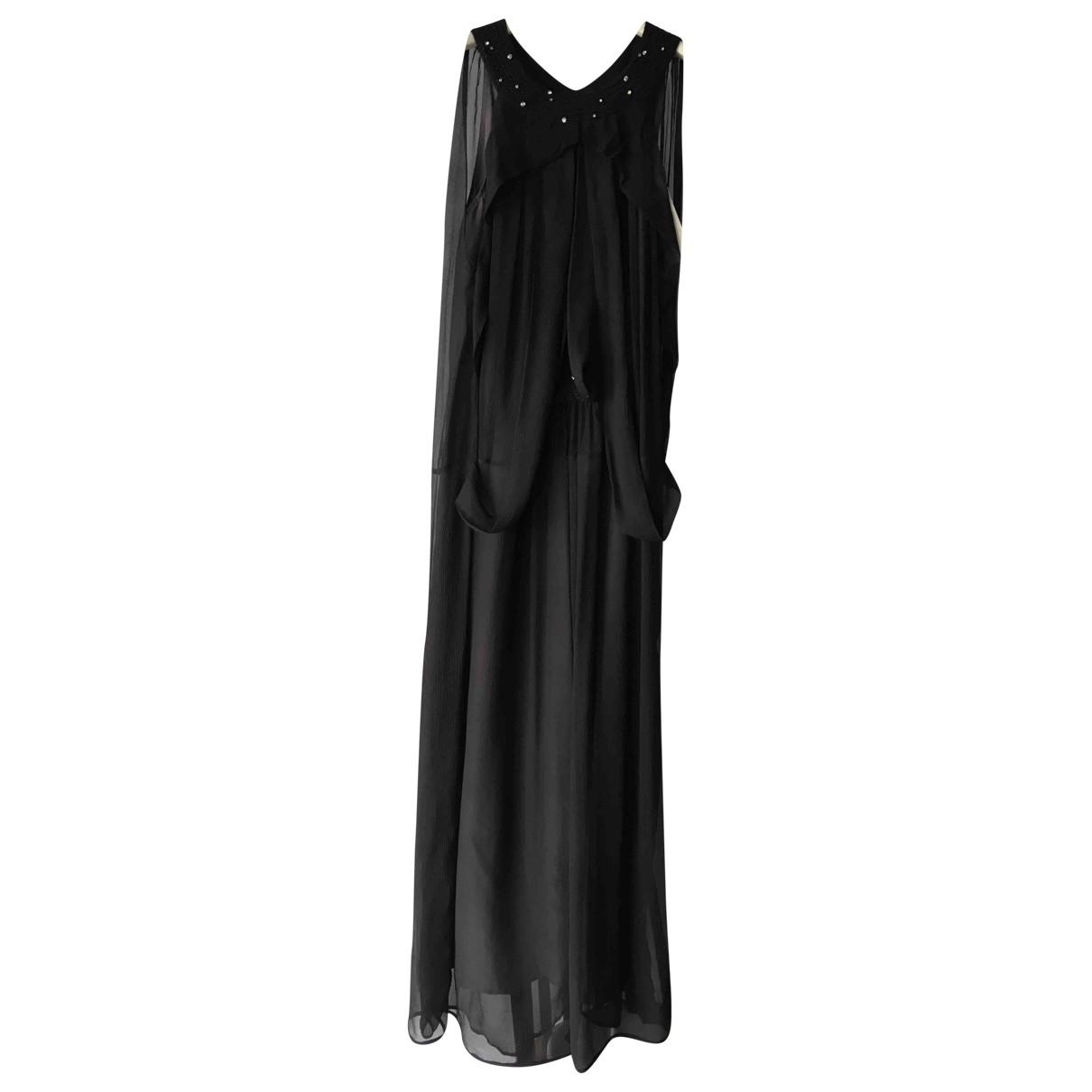Kenzo \N Black Silk dress for Women 36 FR
