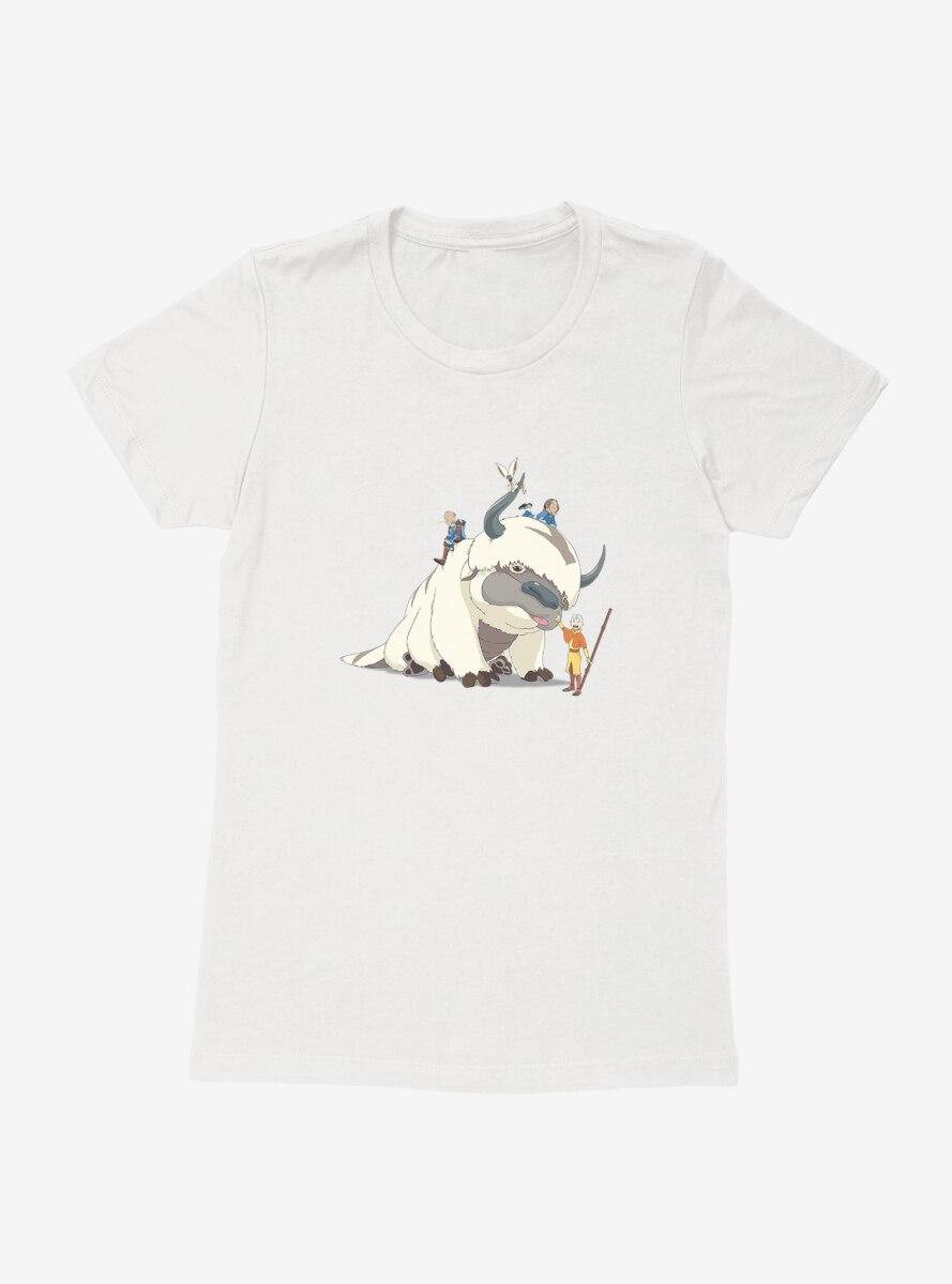 Avatar: The Last Airbender The Team Womens T-Shirt