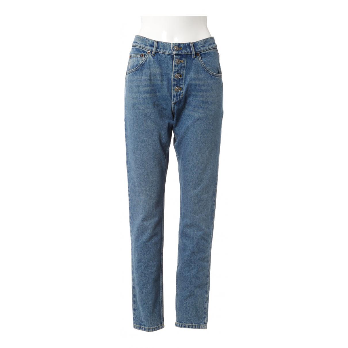 Balenciaga \N Jeans in  Blau Baumwolle