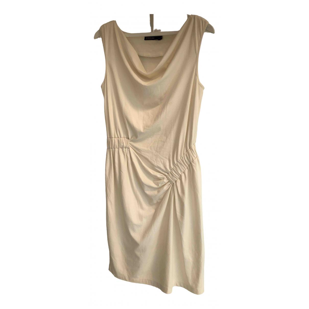 Supertrash \N Kleid in  Ecru Polyester