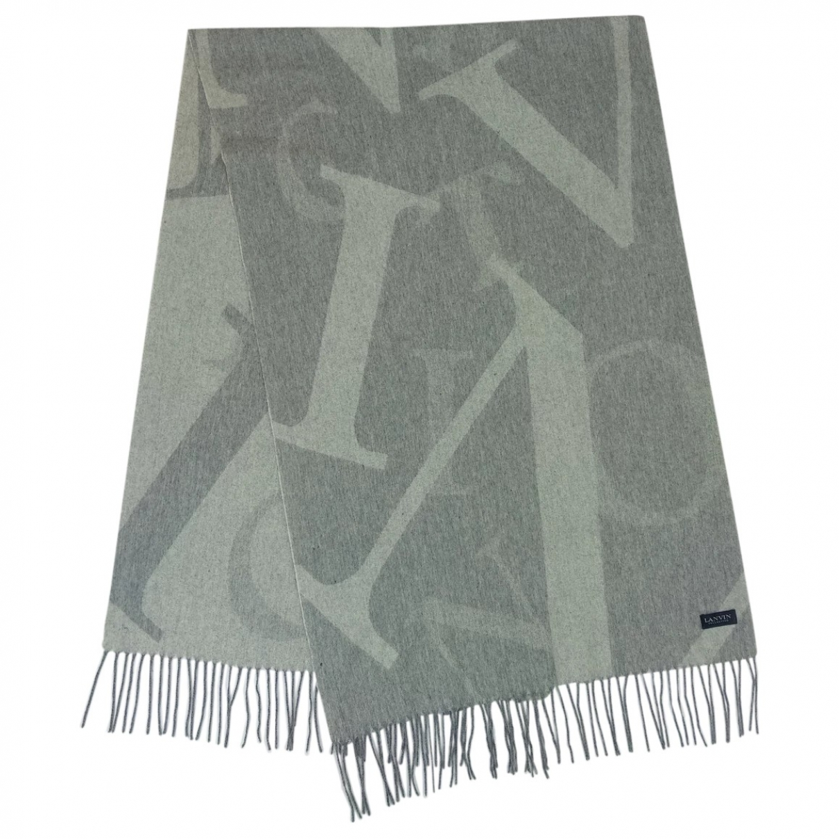 Lanvin \N Grey Cashmere scarf for Women \N