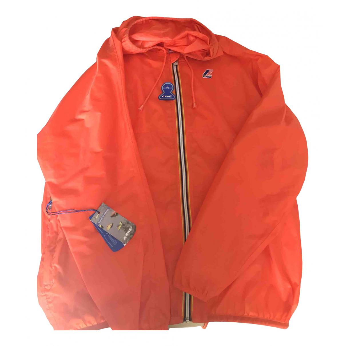 K-way - Vestes.Blousons   pour homme - orange