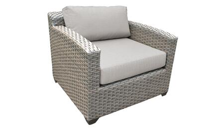 TKC055b-CC-ASH Club Chair - Grey and Ash