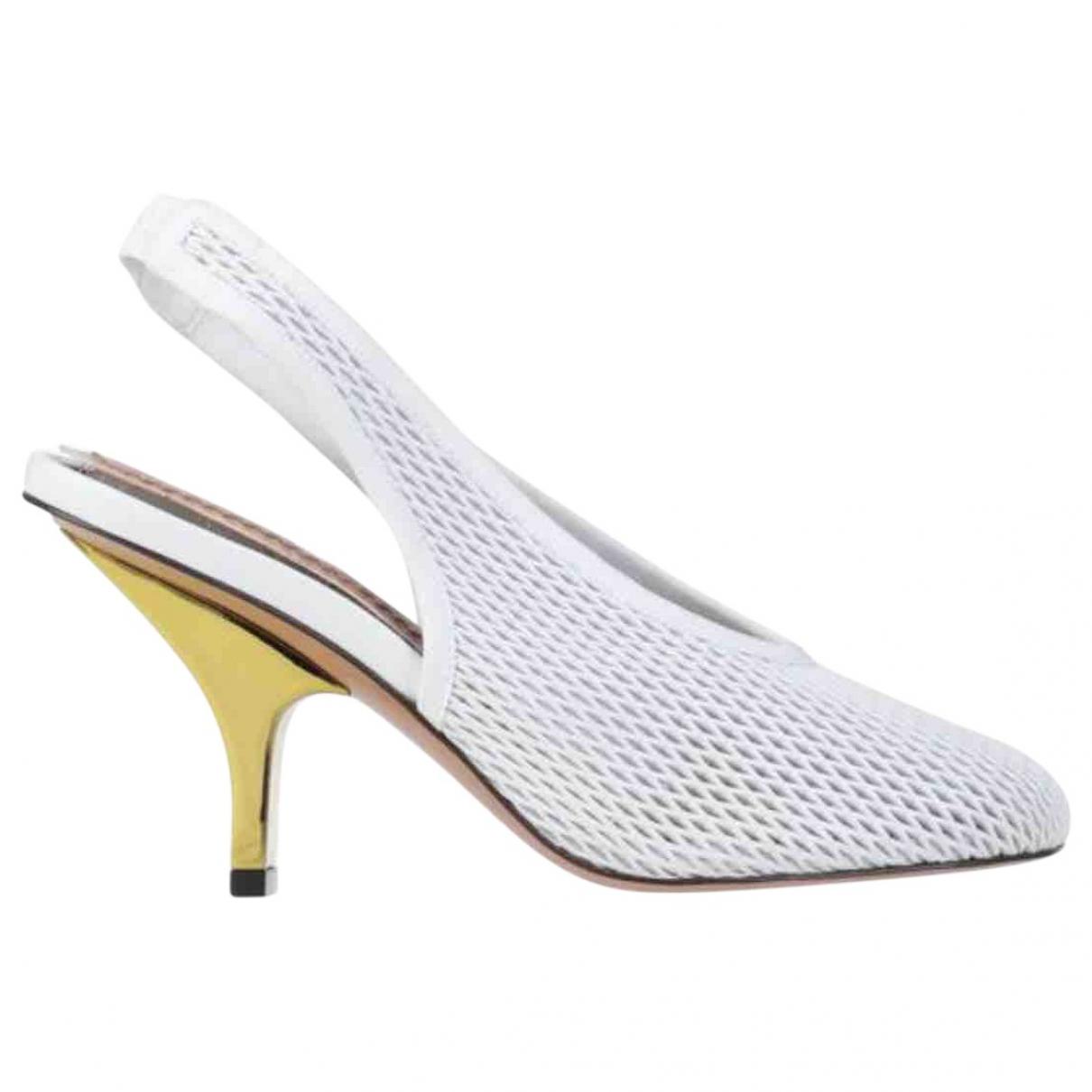Marni \N White Cloth Sandals for Women 36 EU