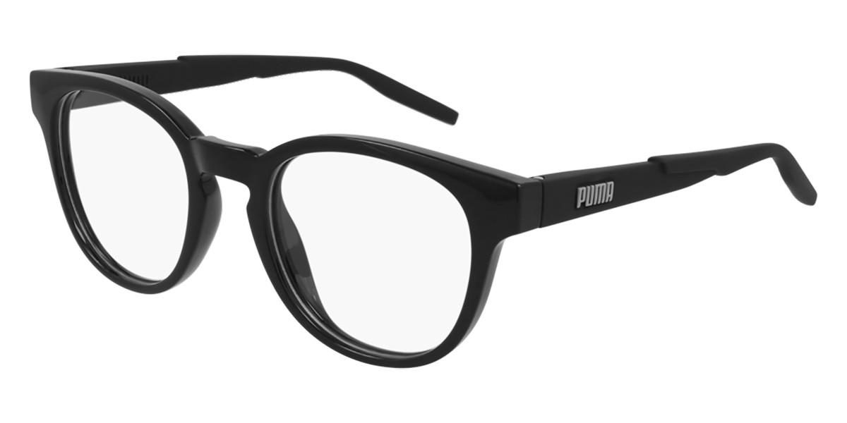 Puma PU0304O 001 Men's Glasses Black Size 51 - Free Lenses - HSA/FSA Insurance - Blue Light Block Available