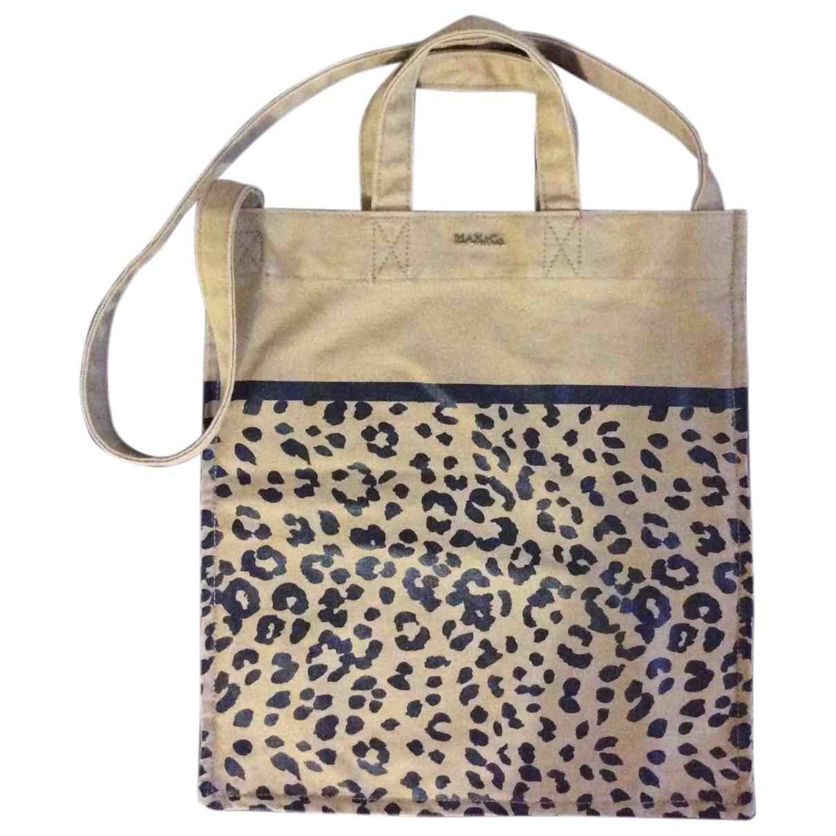Max & Co \N Camel Cotton handbag for Women \N