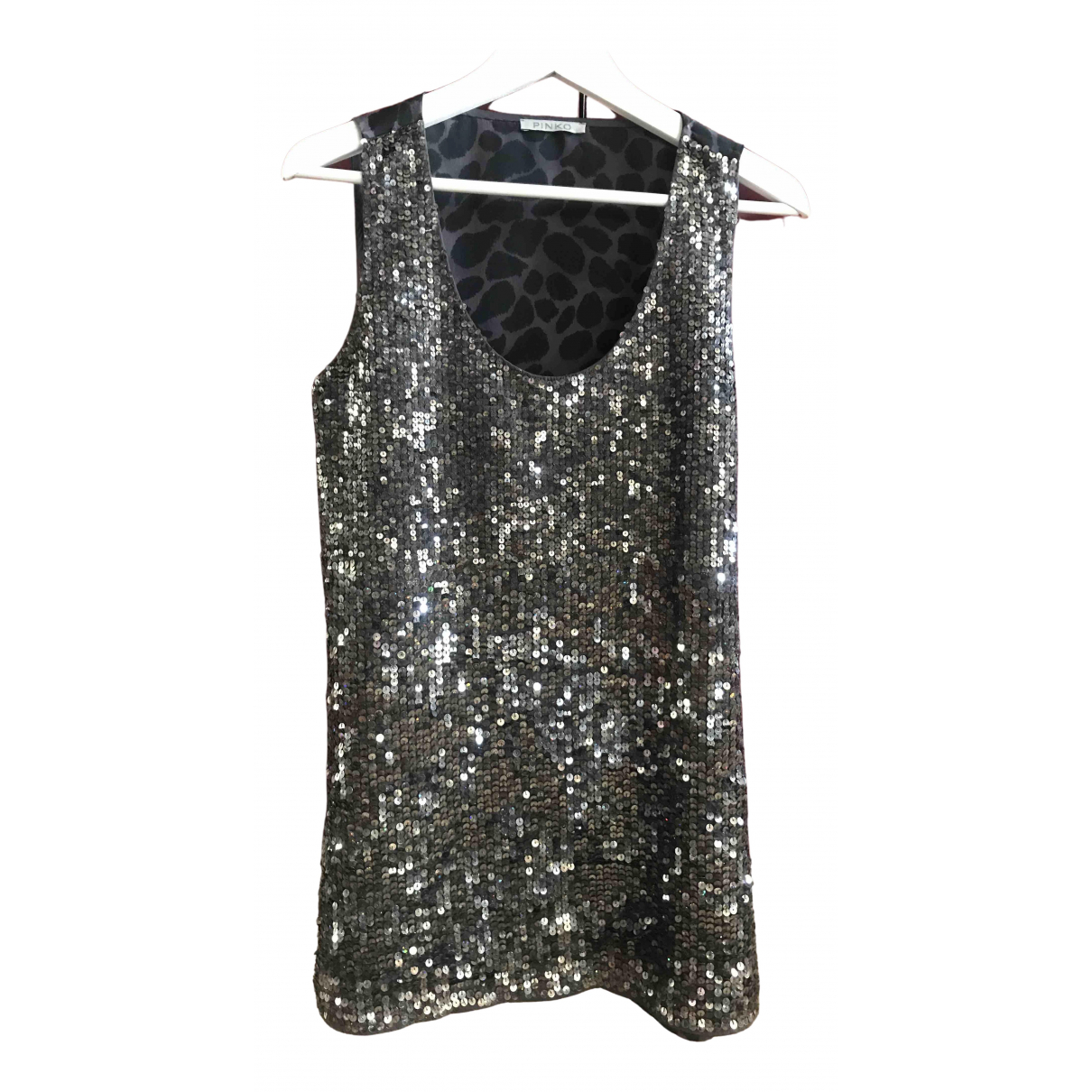 Pinko \N Grey Glitter dress for Women M International