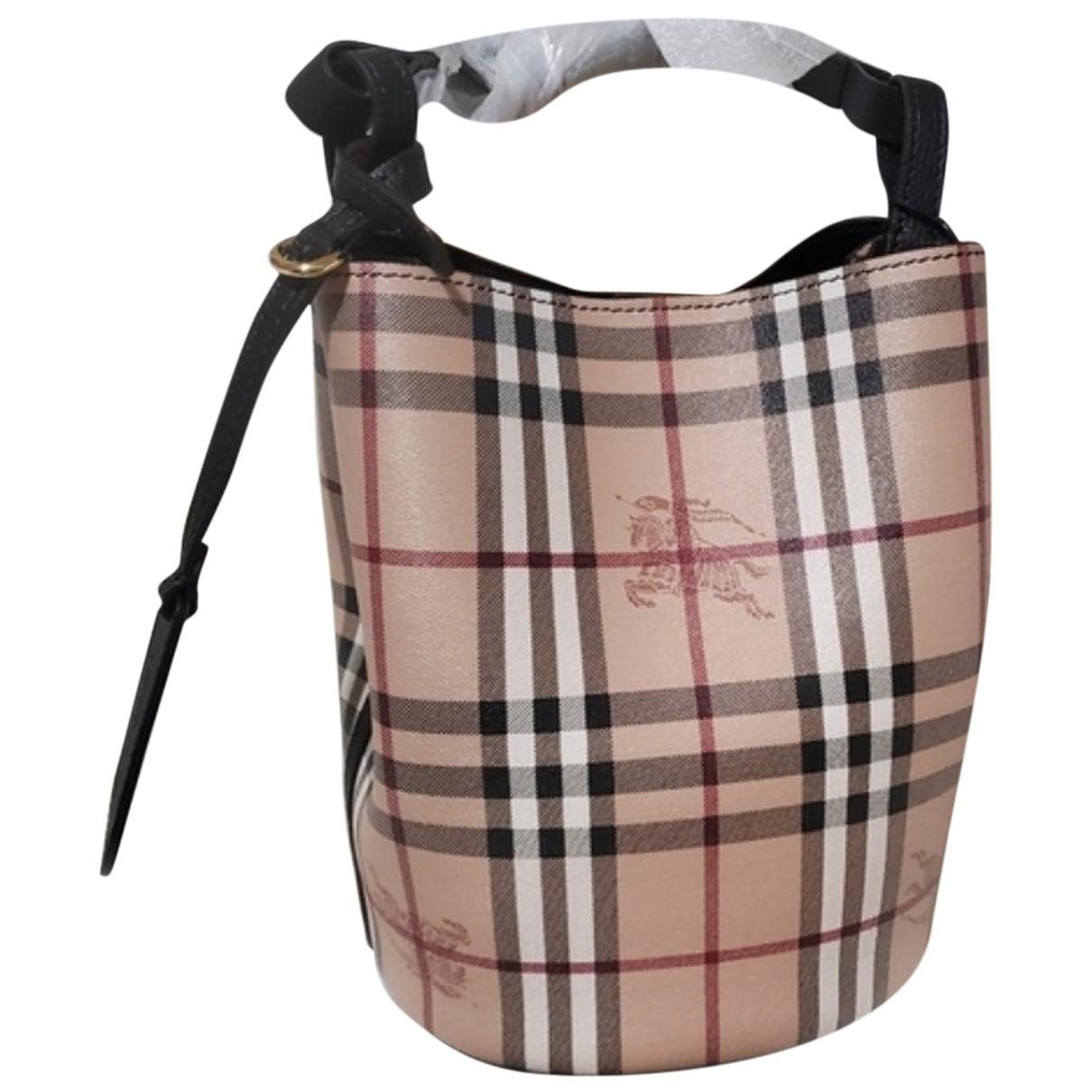 Burberry \N Handtasche in  Bunt Leder