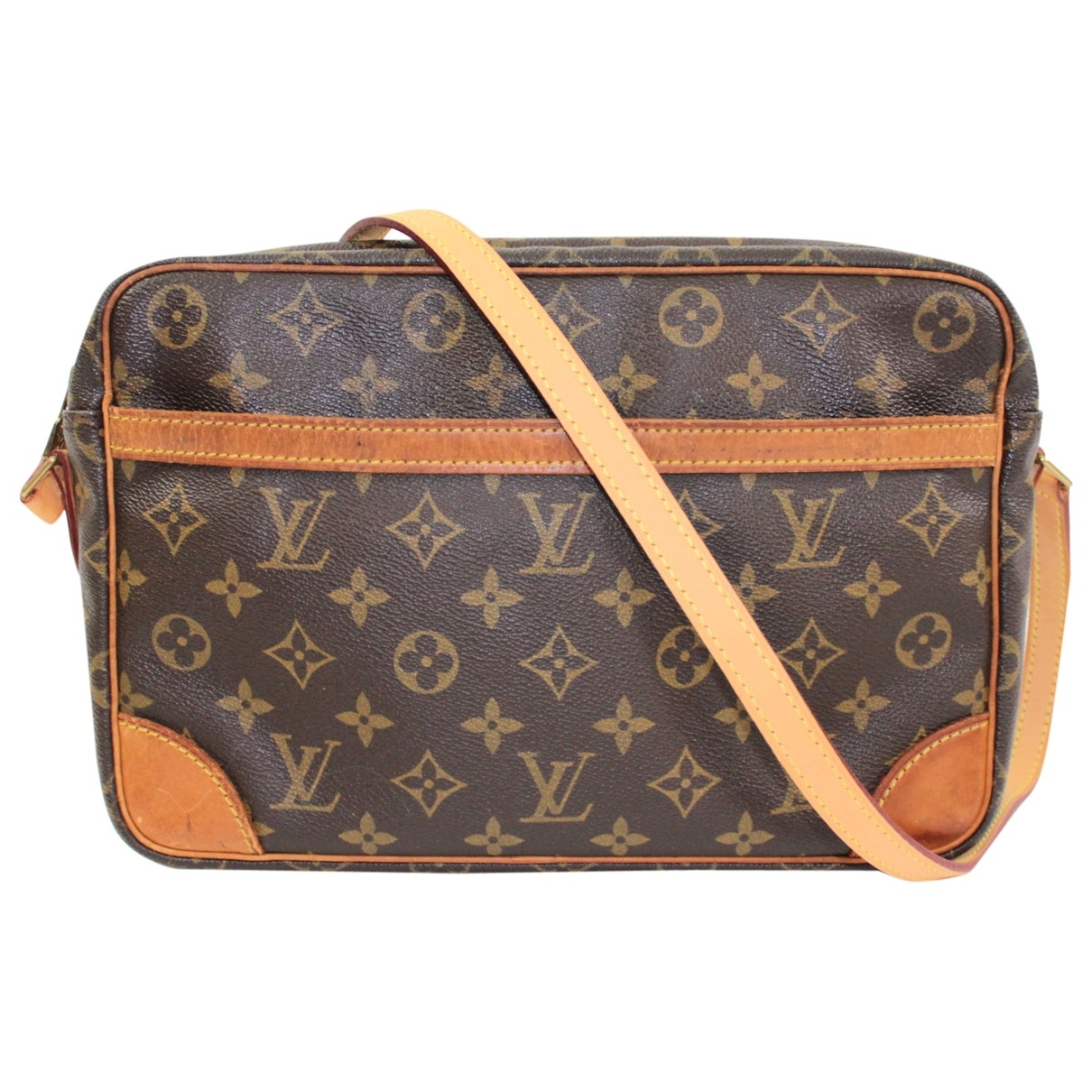 Louis Vuitton Trocadéro Brown Cloth handbag for Women \N