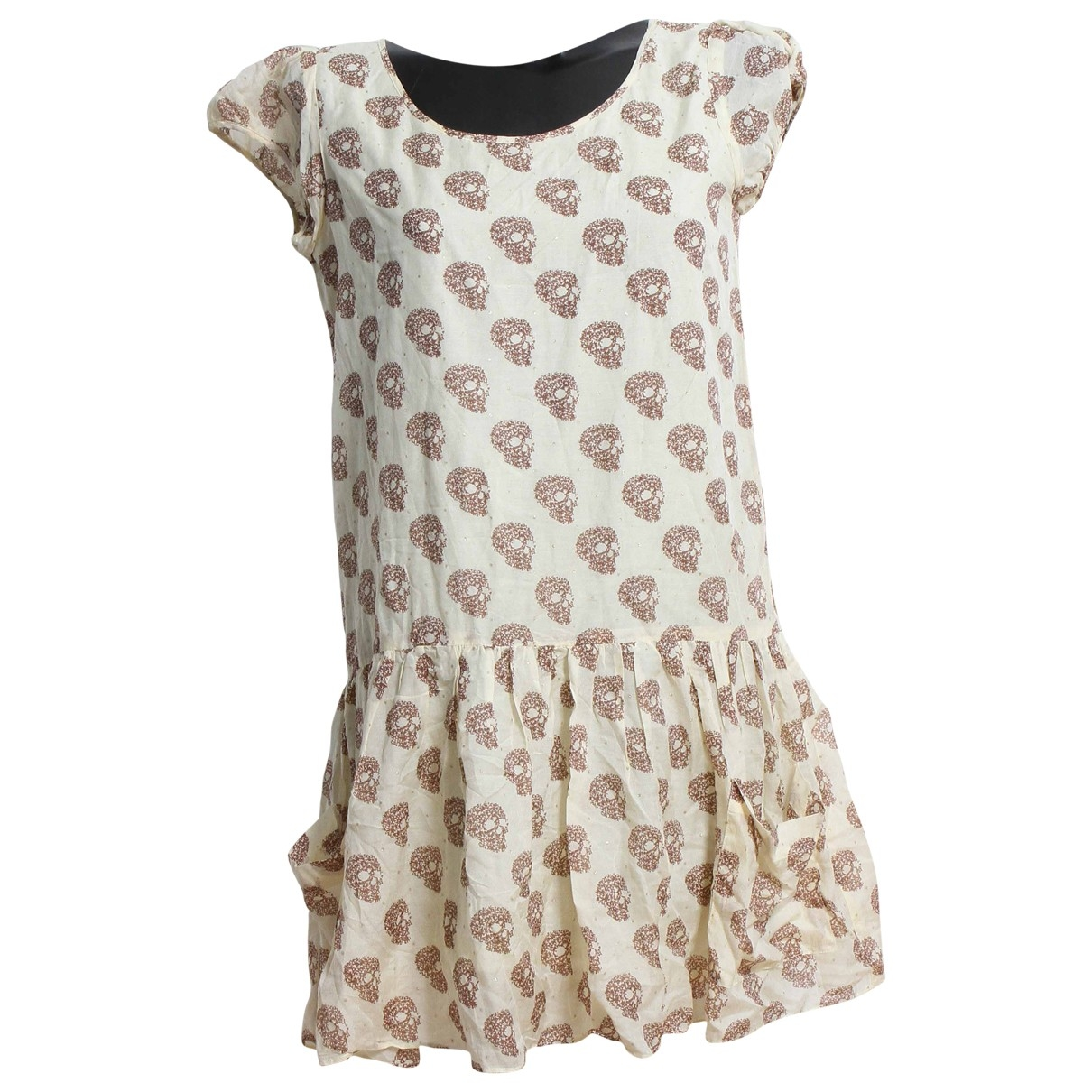 American Retro \N Yellow Cotton dress for Women 38 FR