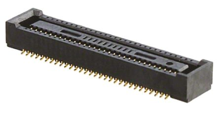 Hirose , DF40 0.4mm Pitch 60 Way 2 Row Straight PCB Socket, Surface Mount, Solder Termination (1000)