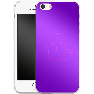 Apple iPhone 5s Silikon Handyhuelle - Cute Ghost von caseable Designs