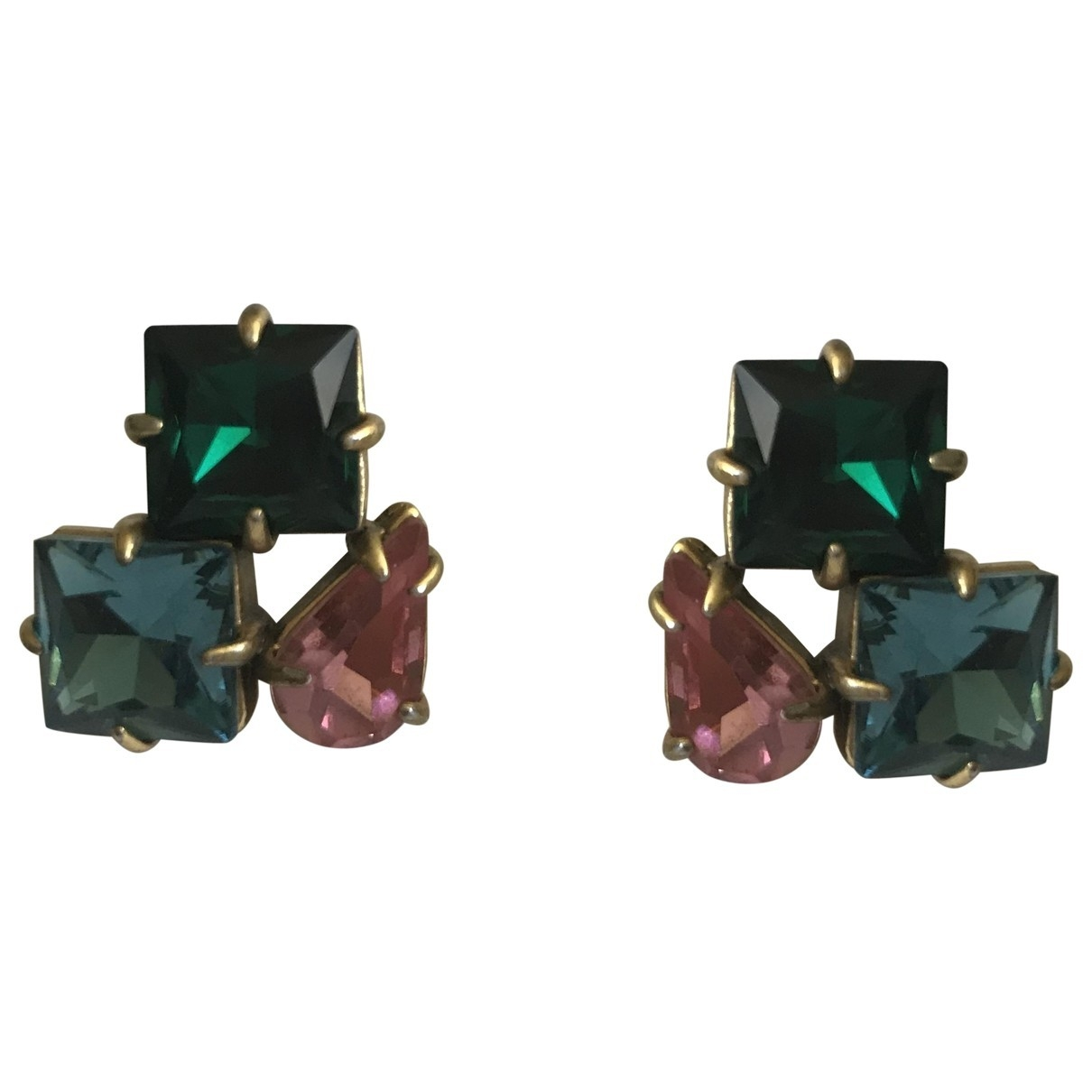 J.crew \N Multicolour Crystal Earrings for Women \N