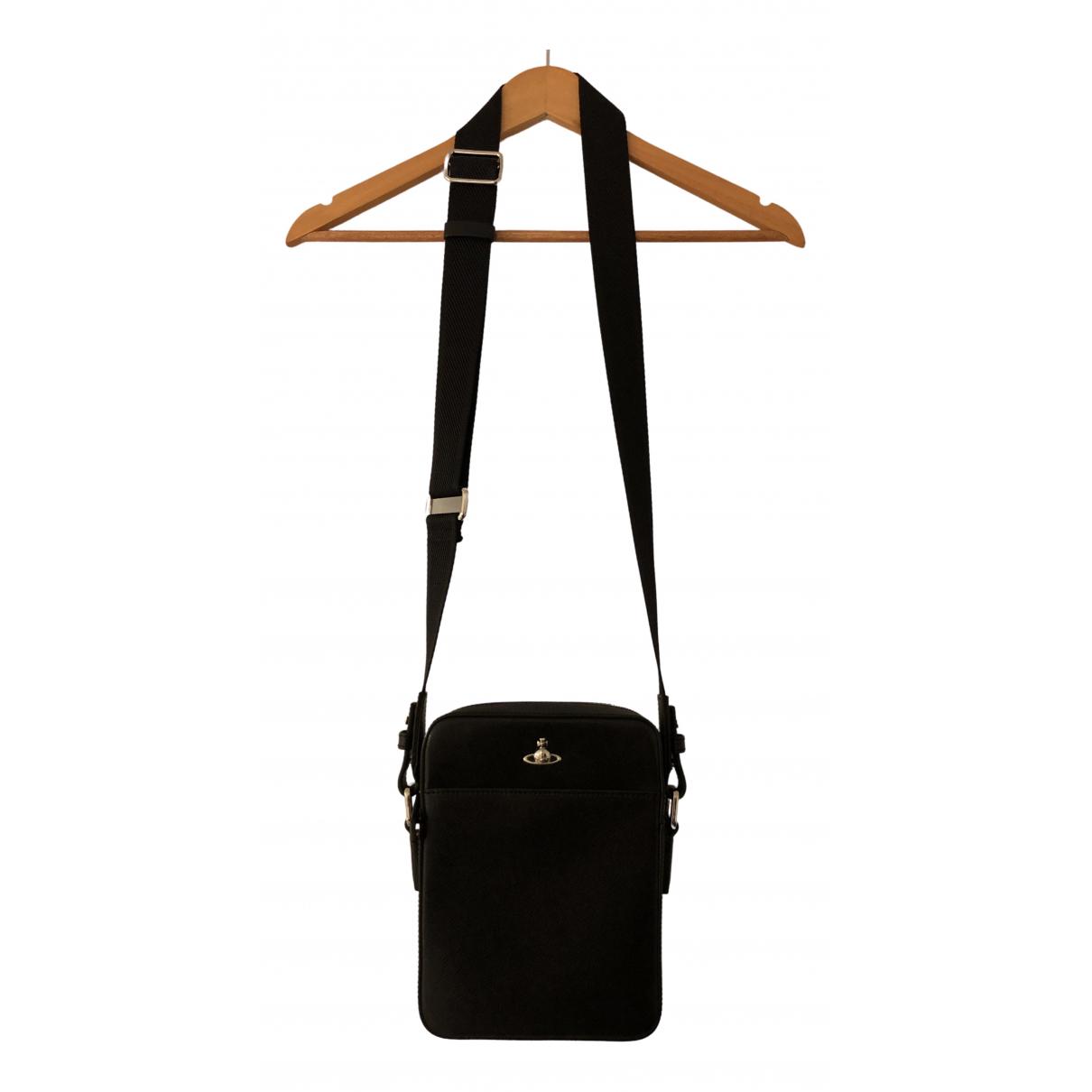 Vivienne Westwood N Black Leather Clutch bag for Women N