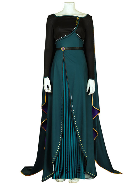 Milanoo Frozen 2 Anna Queen Of Arendelle Cosplay Costume Halloween Outfit
