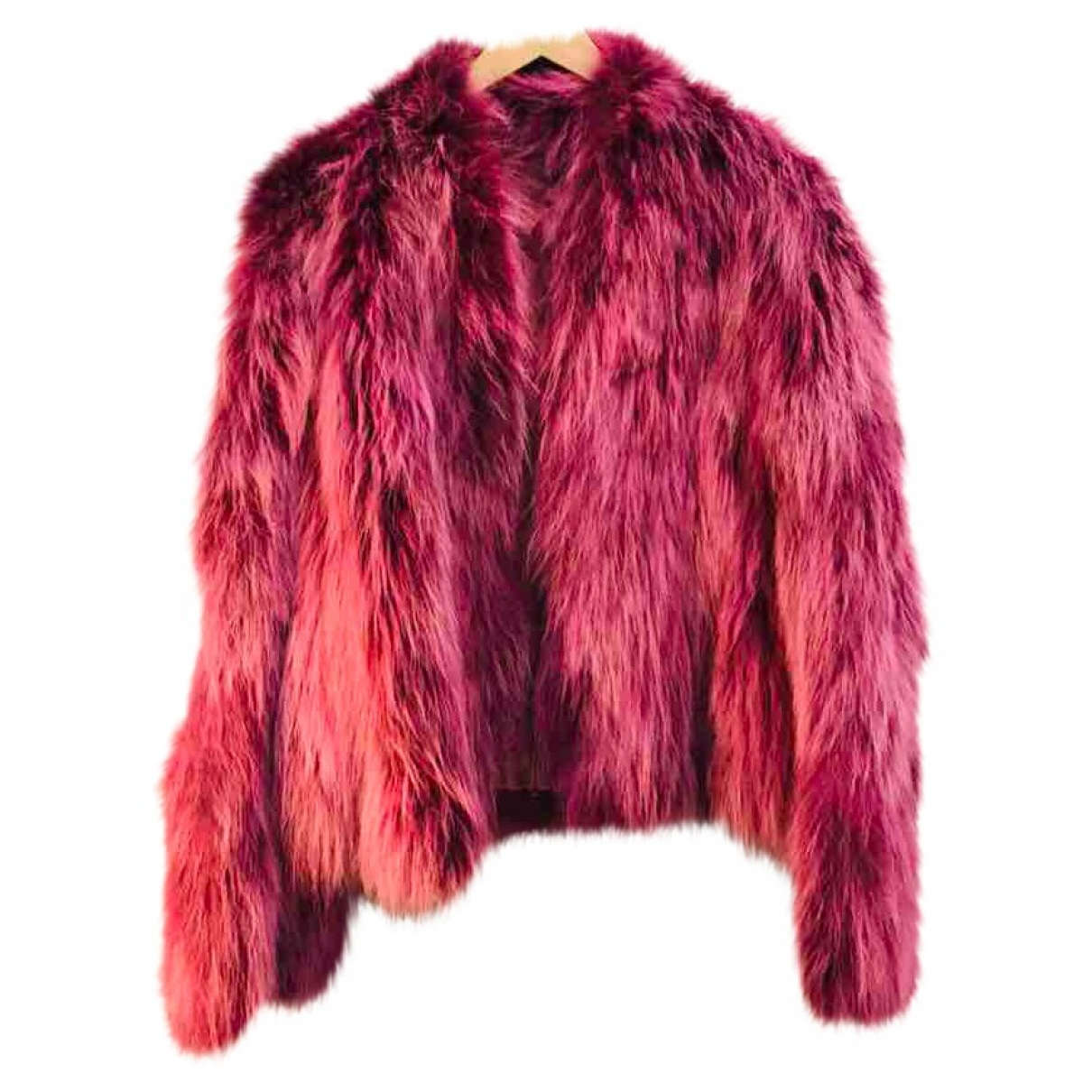 Non Signé / Unsigned \N Purple Fox jacket for Women 44 IT