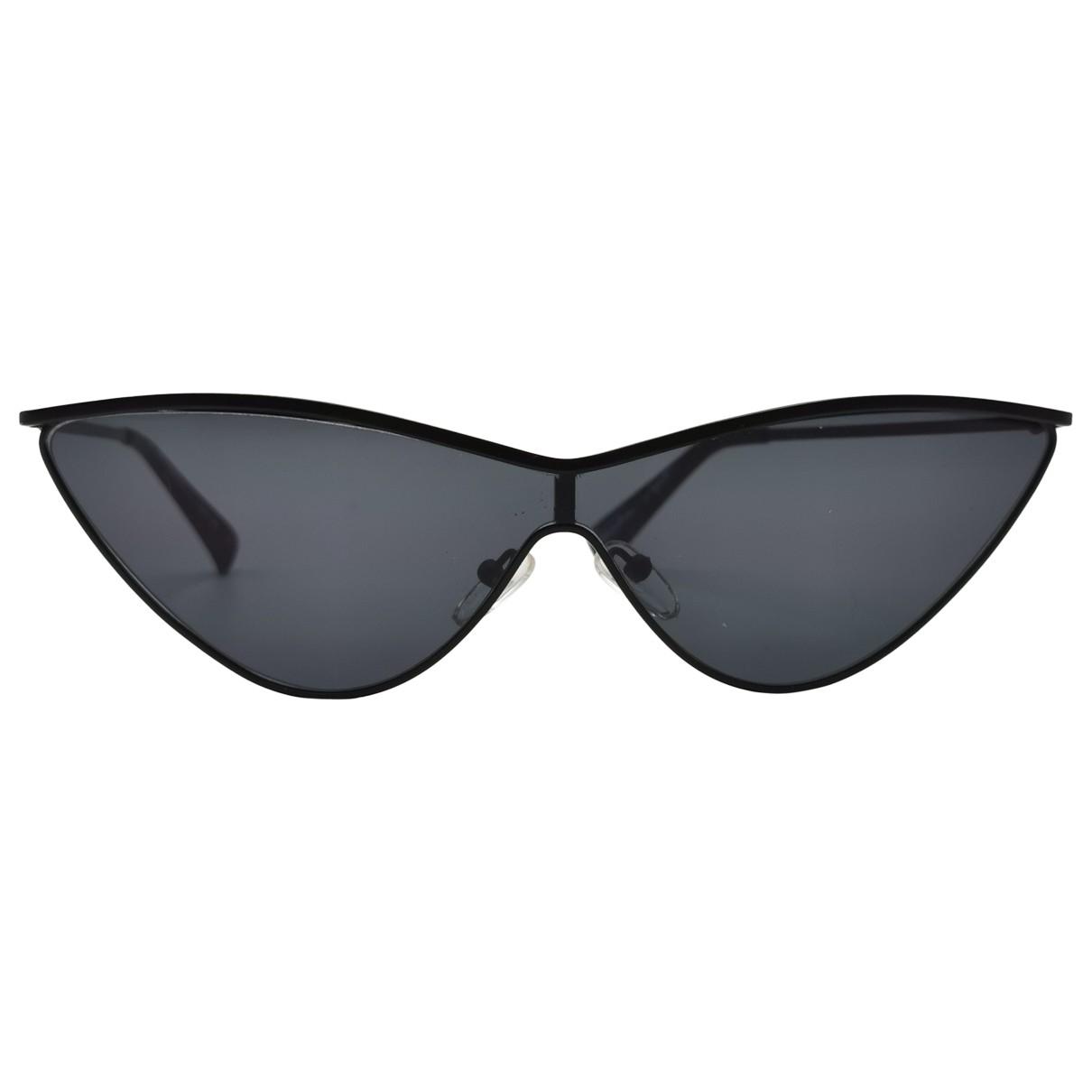 Adam Selman \N Sonnenbrillen in  Schwarz Metall