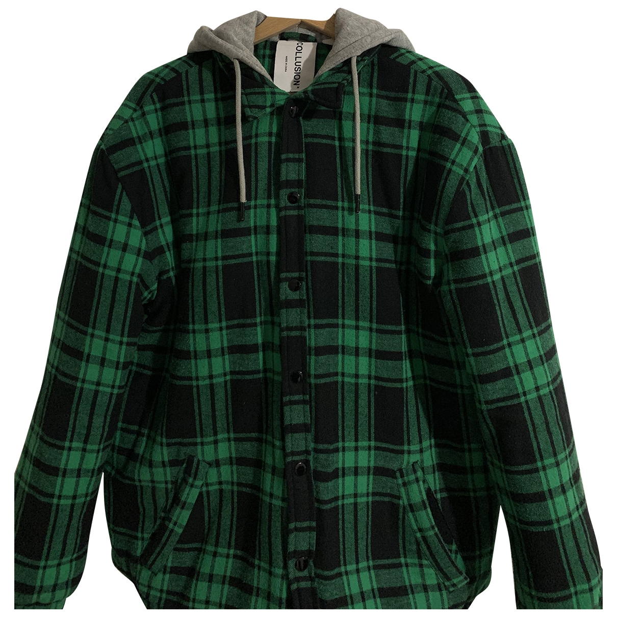Non Signé / Unsigned \N Green jacket  for Men S International