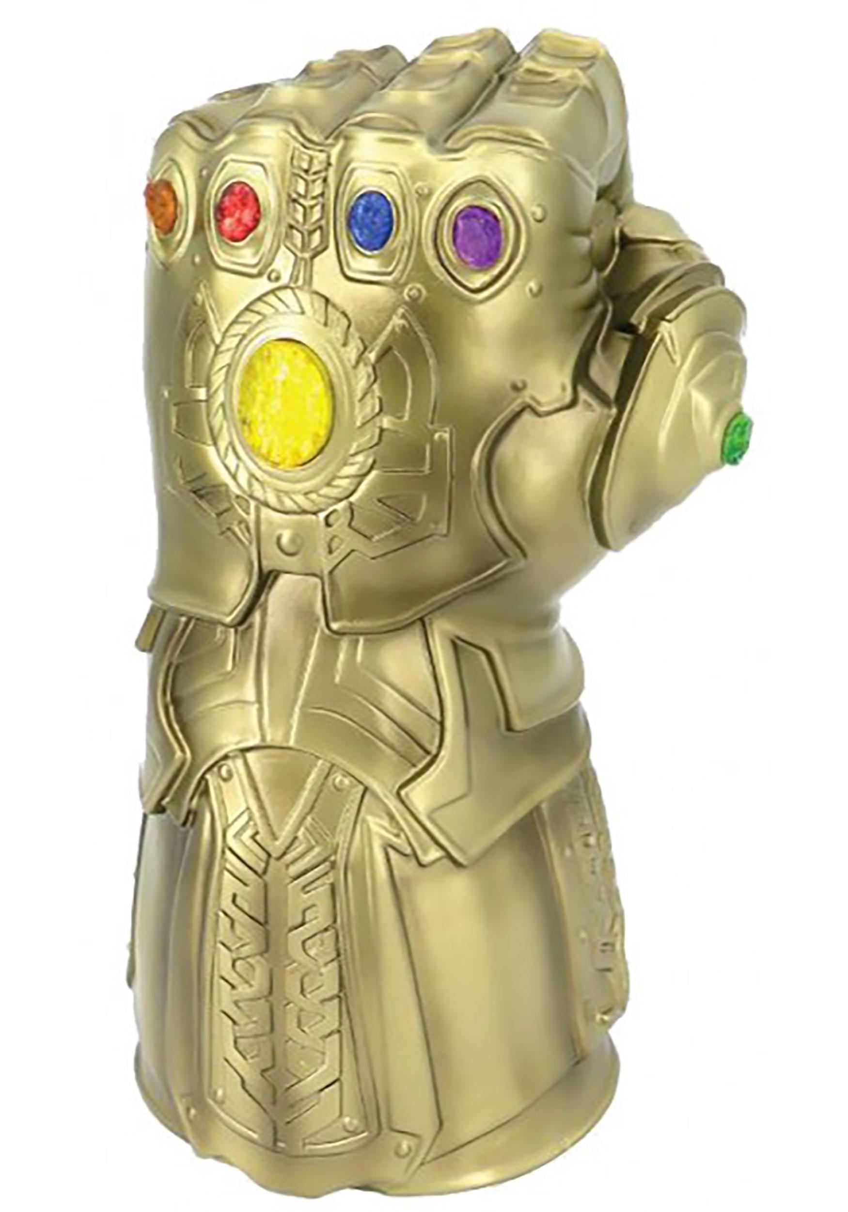 Marvel Thanos Infinity War Gauntlet Coin Bank