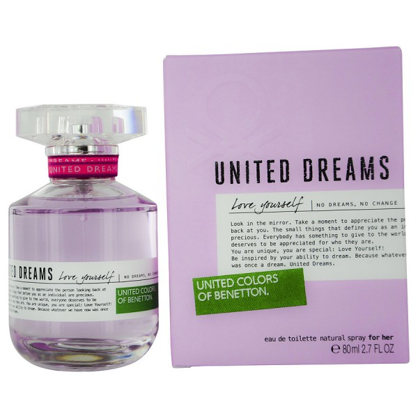 Benetton - United Dreams Love Yourself : Eau de Toilette Spray 2.7 Oz / 80 ml