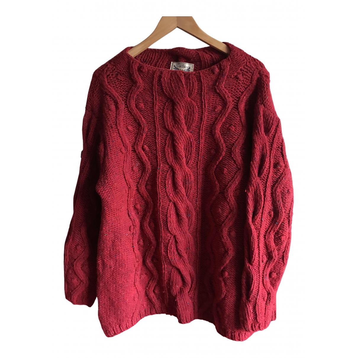 Burberry N Red Wool Knitwear for Women M International