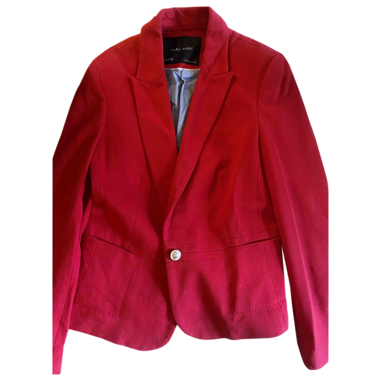 Zara \N Red Tweed jacket for Women M International
