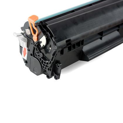 Compatible HP 12X Q2612X cartouche de toner noire à rendement élevé de Moustache, 4 paquet