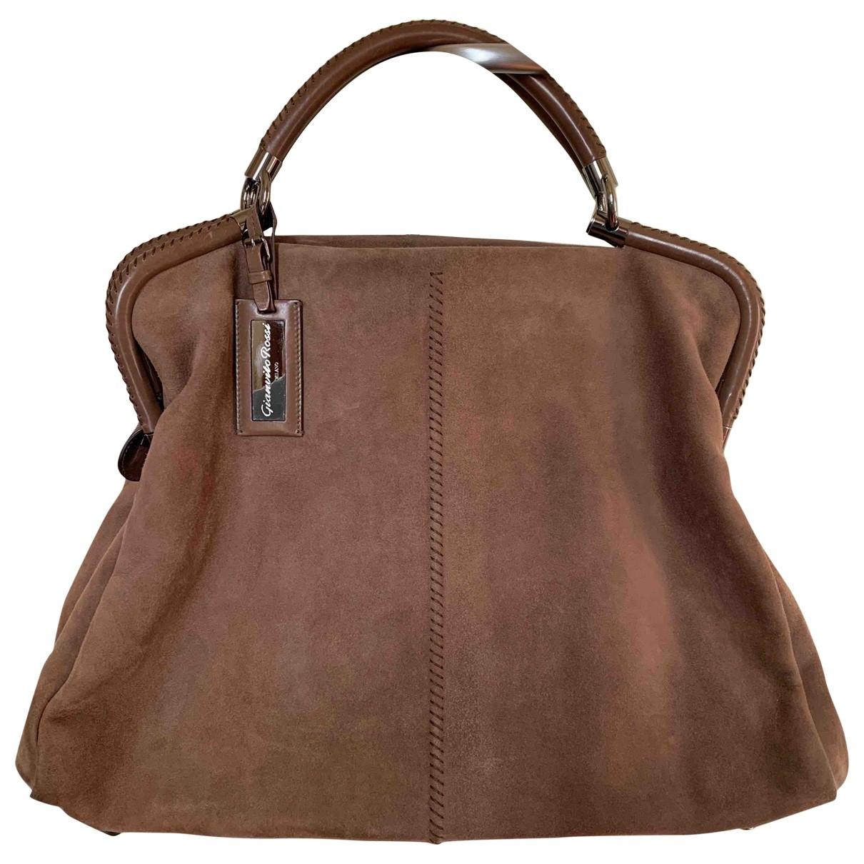 Gianvito Rossi \N Beige Suede handbag for Women \N