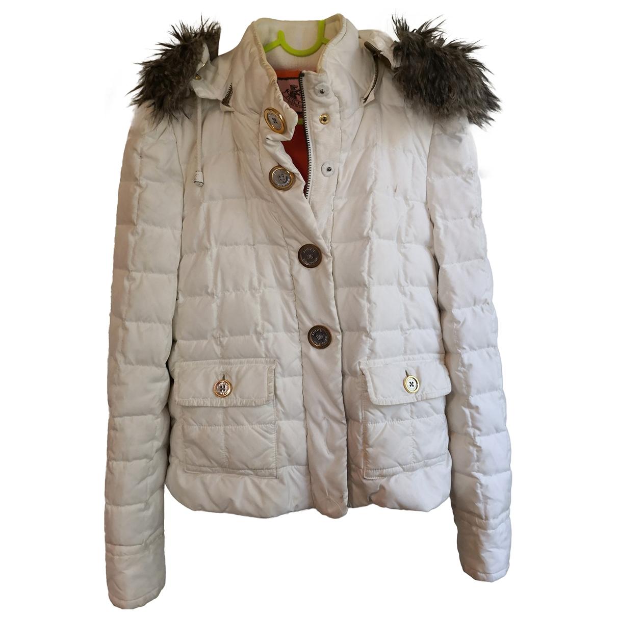 Juicy Couture \N Maentel in  Ecru Polyester