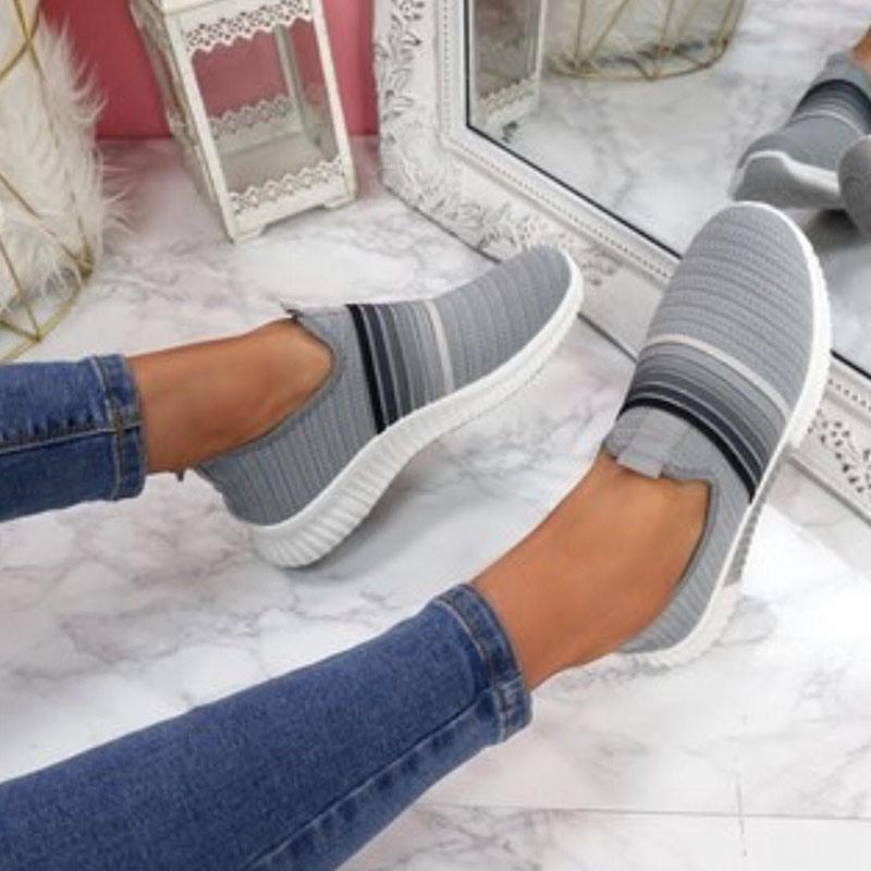 Ericdress Slip-On Round Toe Outdoor Sneakers