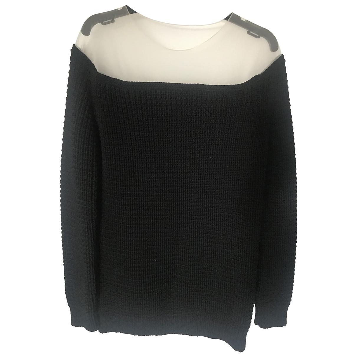 Loewe - Pull   pour femme en coton - noir