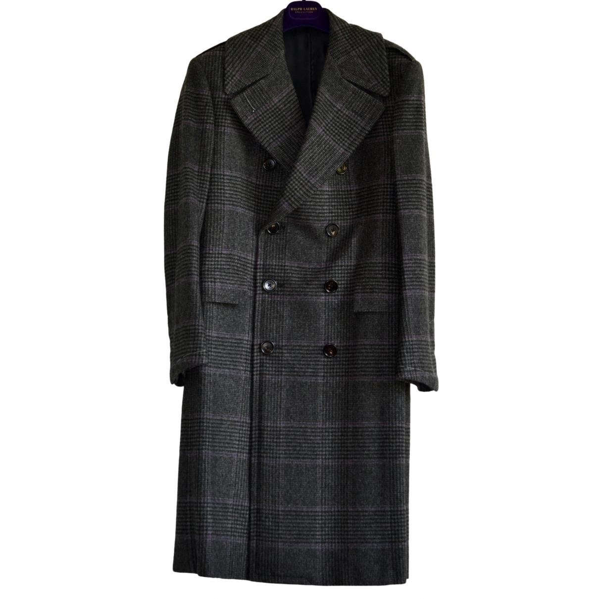 Ralph Lauren Purple Label - Manteau   pour homme en cachemire - anthracite