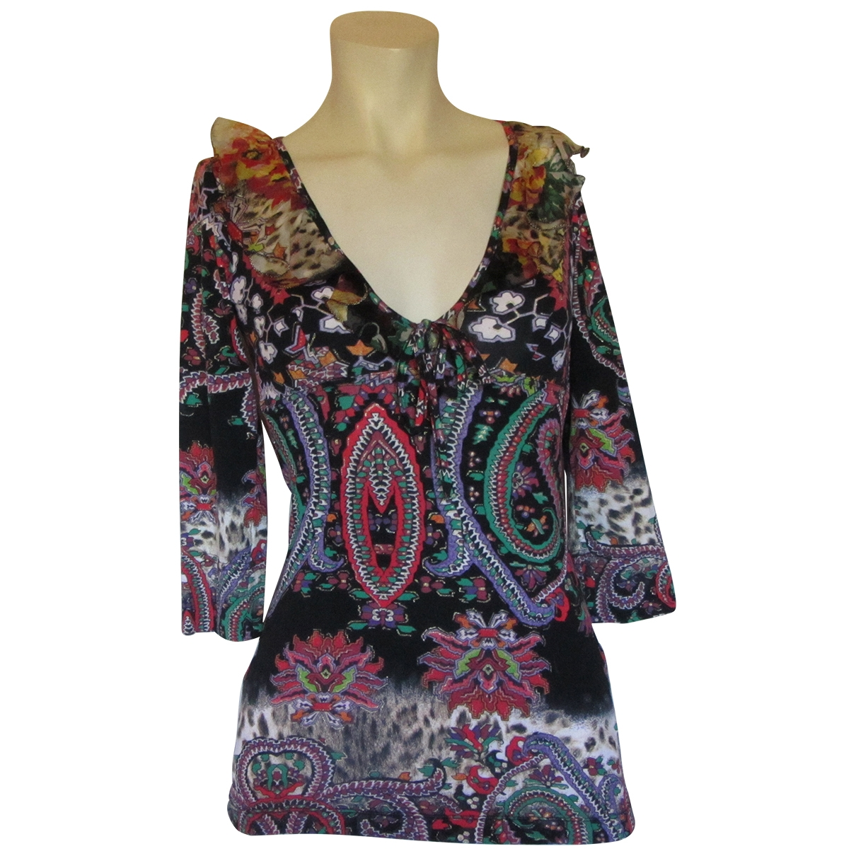 Roberto Cavalli \N Multicolour  top for Women 40 IT