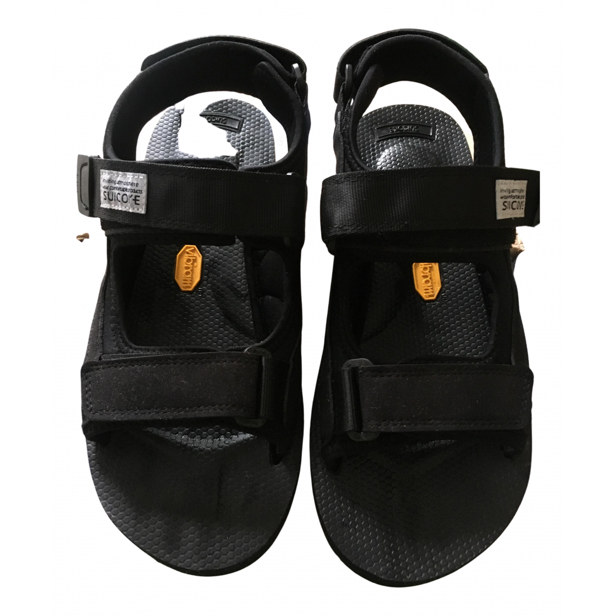 Suicoke N Black Sandals for Women 5 UK