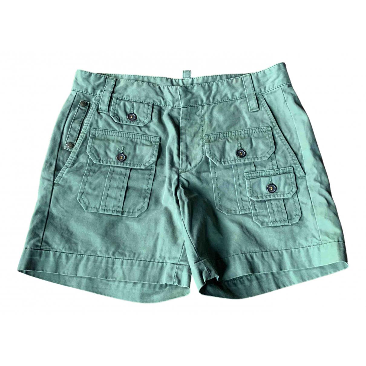 Dsquared2 \N Shorts in  Gruen Baumwolle