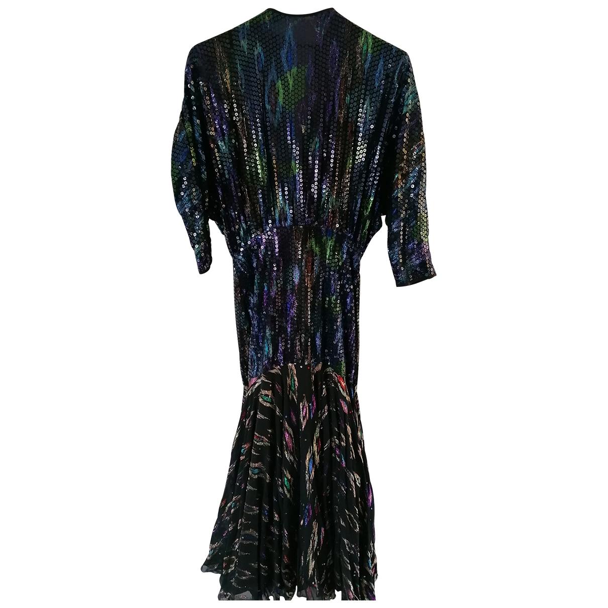 - Robe   pour femme en a paillettes - multicolore