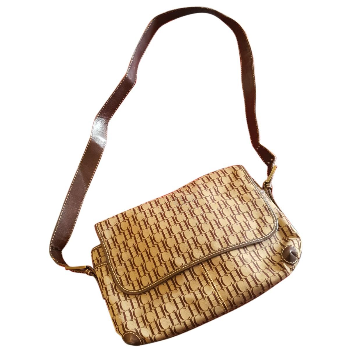 Carolina Herrera N Brown Cloth handbag for Women N