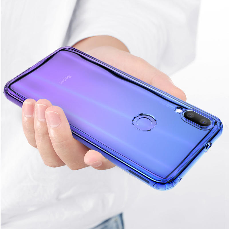 Bakeey Gradient Shockproof Soft TPU Protective Case for Xiaomi Redmi 7