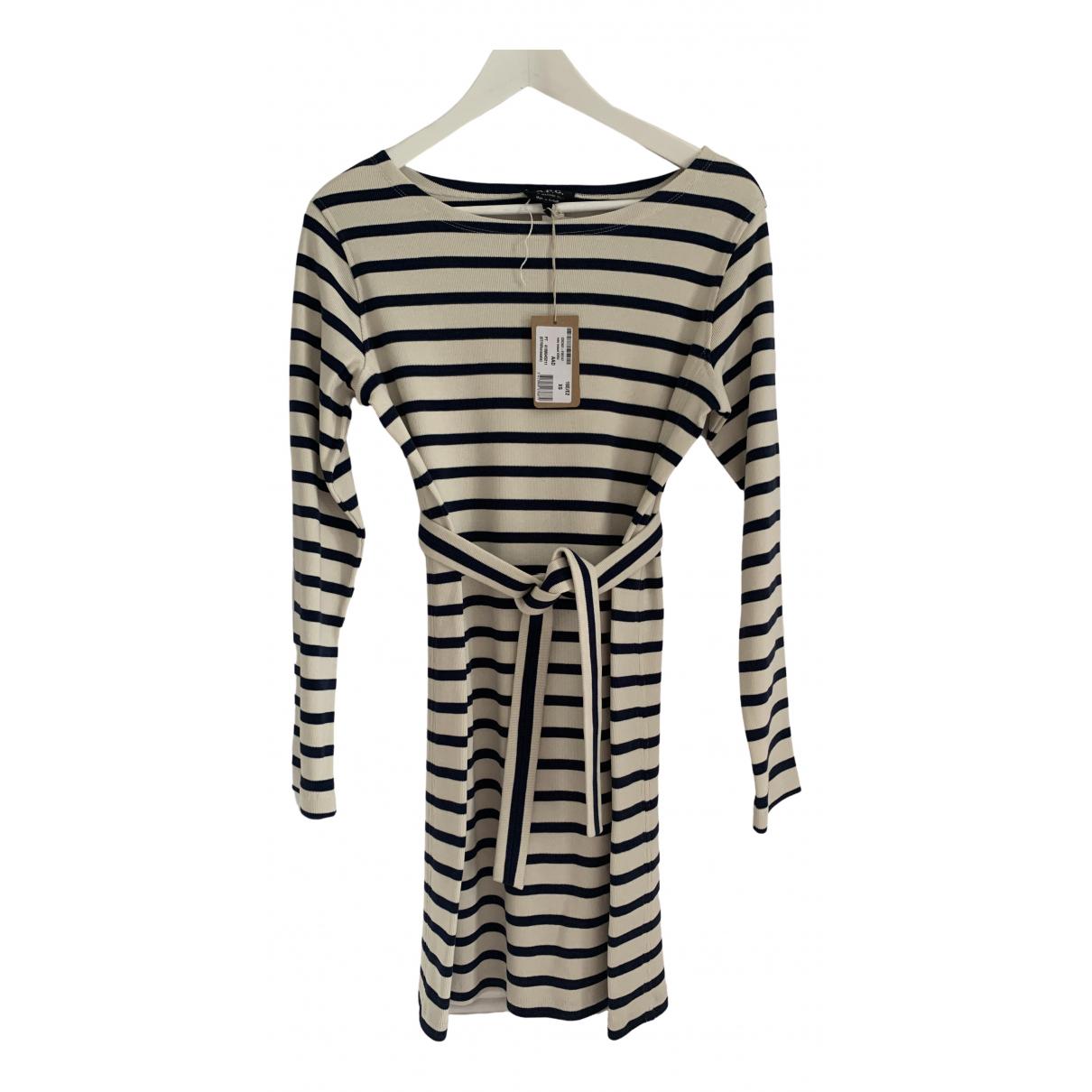 Apc \N Kleid in  Marine Baumwolle - Elasthan