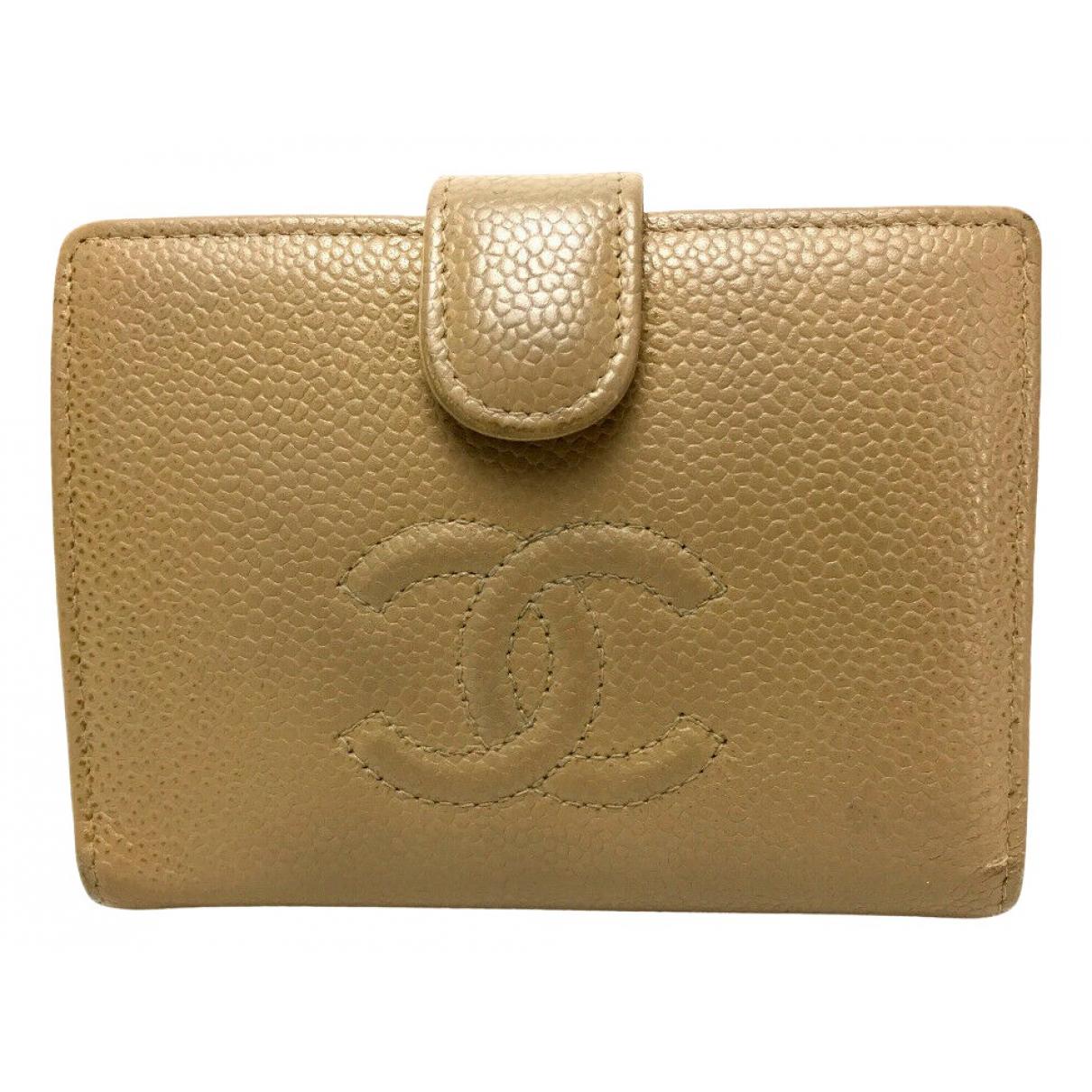 Chanel \N Portemonnaie in Leder