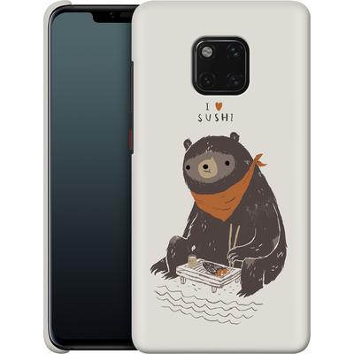 Huawei Mate 20 Pro Smartphone Huelle - Sushi Bear von Louis Ros