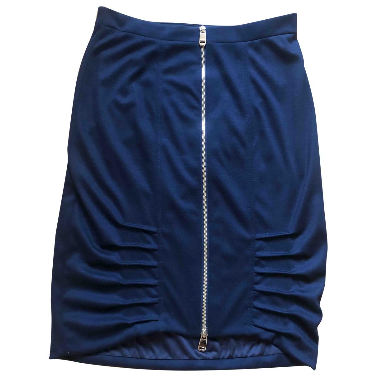 Emporio Armani \N Rocke in  Blau Wolle