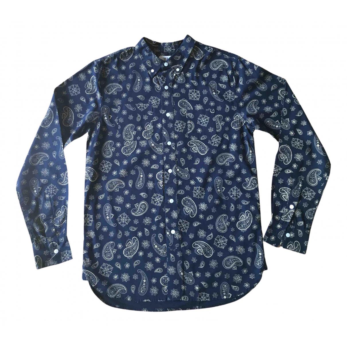 Ymc N Blue Cotton Shirts for Men S International