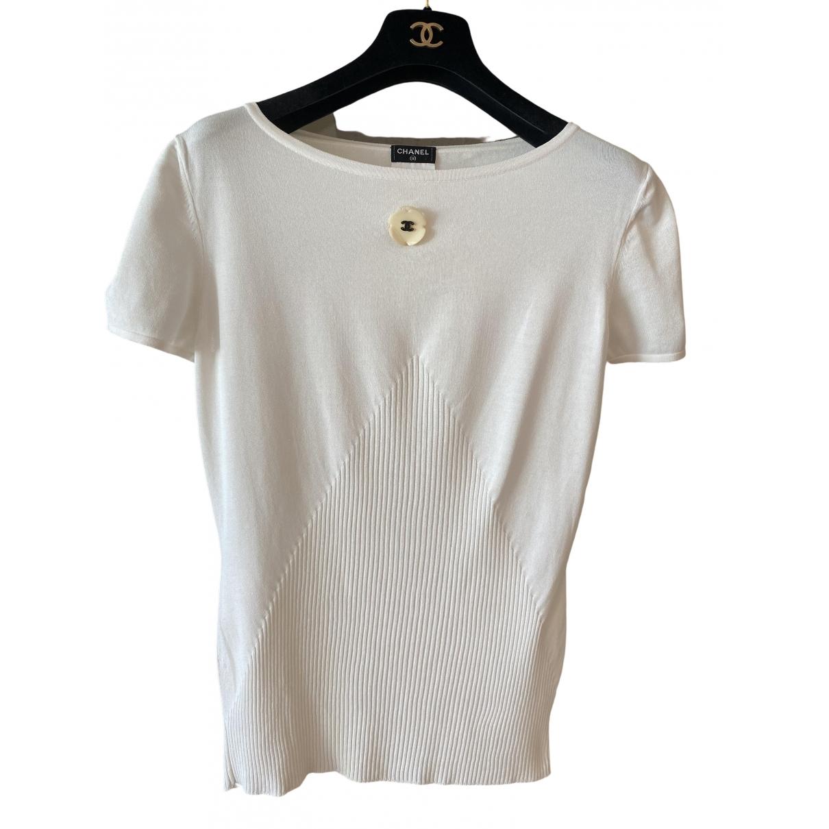 Camiseta de Seda Chanel