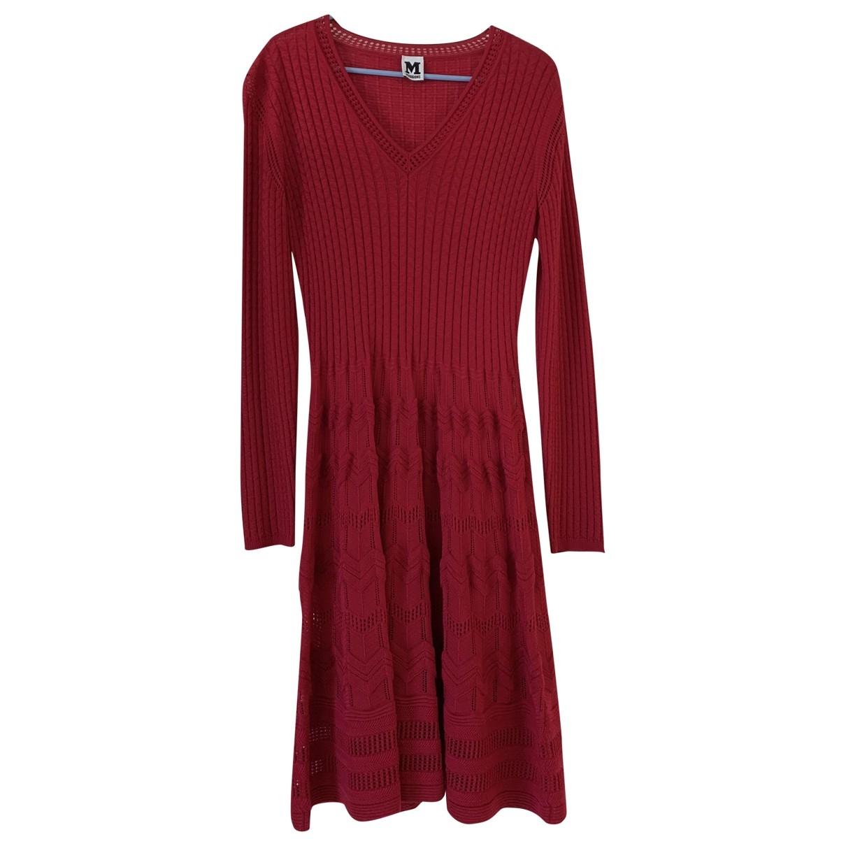 M Missoni \N Kleid in  Rot Wolle