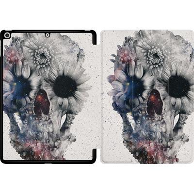 Apple iPad 9.7 (2018) Tablet Smart Case - Floral Skull 2 von Ali Gulec